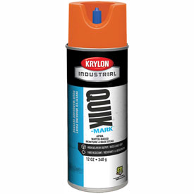 Krylon Industrial Quik-Mark Wb Inverted Mkg Paint Apwa Brilliant Orange - S03403 - Pkg Qty 12