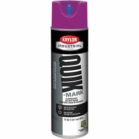 Krylon Industrial Quik-Mark Sb Inverted Marking Paint Fluorescent Purple - S03615 - Pkg Qty 12