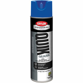 Krylon Industrial Quik-Mark Sb Inverted Marking Paint Apwa Blue - S03621 - Pkg Qty 12
