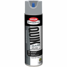 Krylon Industrial Quik-Mark Sb General-Purpose Marking Paint Silver - A03640007 - Pkg Qty 12