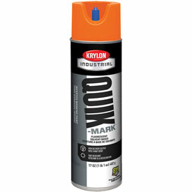 Krylon Industrial Quik-Mark Sb Inverted Marking Paint Fluorescent Orange - S03702 - Pkg Qty 12