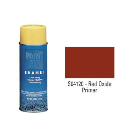 Krylon Industrial Paint-All Enamel Paint Red Oxide Primer - S04120 - Pkg Qty 12