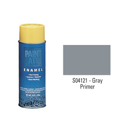 Krylon Industrial Paint-All Enamel Paint Gray Primer - S04121 - Pkg Qty 12