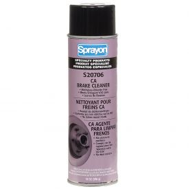 Sprayon S20706 CA Brake Cleaner, 20 oz. Aerosol Can - s02070600 - Pkg Qty 12