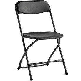 2200 Series Light Weight Injection Molded Stacking Chair Black, Pk/10 by