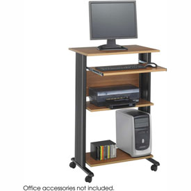 Safco® 1923MO Muv™ Stand-up Workstation - Medium Oak