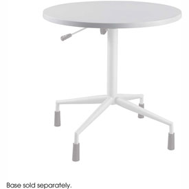 "RSVP 30"" Round Table Top Only Gray (Base Sold Separately) by"