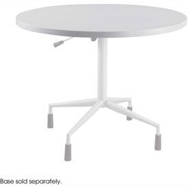 "RSVP 42"" Round Table Top Only Gray (Base Sold Separately) by"