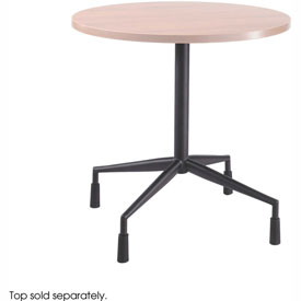 "RSVP™ Fixed Base 28"" Dia. With 4 Levelers Black (Top Sold Separately)"