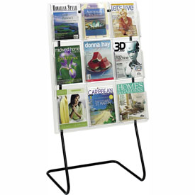 Magazine Display Floor Stand
