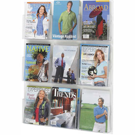 See-Thru 9 Magazine Display