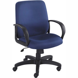 Balance Executive Mid-Back Seating - Blue