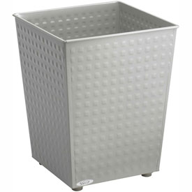 Checks Wastebasket (Qty. 3) - Gray