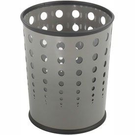 Bubble Wastebasket (Qty. 3) - Gray