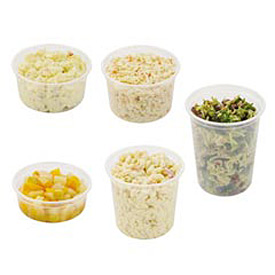 MicroGourmet® Plastic Food Containers