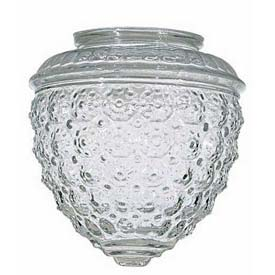 Satco 50-112 Clear Pineapple Glass by