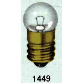 Satco S7064 2.8w Mini/Sealed Beam W/ Mini Screw Base Bulb - Pkg Qty 10