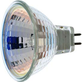 Satco S1956 20mr16/Fl  20w Halogen W/ Minature 2 Pin Round Base Bulb - Pkg Qty 12