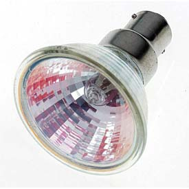 Satco S1975 65mr16/Dc/Nsp 65w Halogen W/ Dc Bay. Base Bulb - Pkg Qty 12