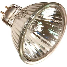 Sylvania 50mr16/B/Fl 50w Halogen W/ Minature 2 Pin Round Base Bulb - Pkg Qty 20