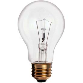 Sylvania 60a19ts/8m/Ss 60w Incandescent W/ Medium Base Bulb - Pkg Qty 6