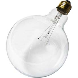 Satco S3013 100g40 100w Incandescent W/ Medium Base Bulb - Pkg Qty 6