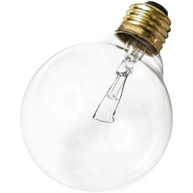 Satco S3651 25g30 25w Incandescent W/ Medium Base Bulb - Pkg Qty 6
