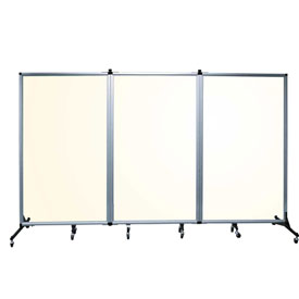 Portable Acrylic Clear Panel Room Divider 6 2 H X 10 L