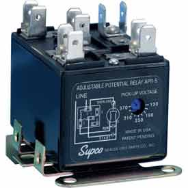 Supco Adjustable Potential Relay - Pkg Qty 6