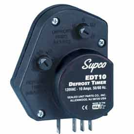 Supco EDT21 Electronic Defrost Timer 3/4HP, 208/240V, 20 Amps by