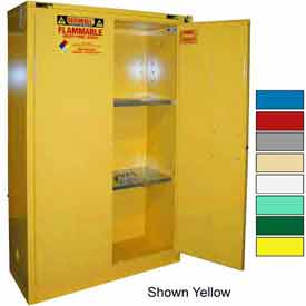 Securall® 45-Gallon, Self-Close Flammable Cabinet Gray