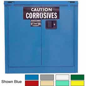 Securall® 30-Gallon, Self-Close, Acid & Corrosive Cabinet Ag Green