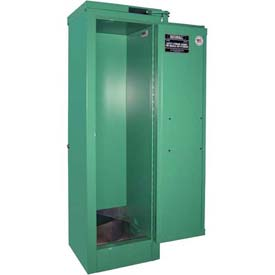 "Securall® 4, D & E Cylinder, Vertical Medical Fire Lined Gas Cabinet, 14""W x 13-5/8""D x 44""H"