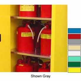 """Securall® Extra Shelf for 4 Gallon 17"""" Wide Cabinet Ag Green"""