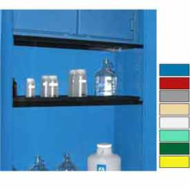 """Securall® Extra Shelf for Cabinets 43"""" Wide, Blue"""
