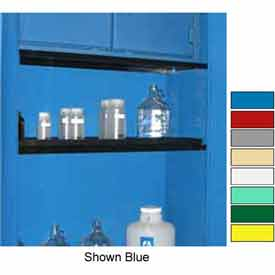 """Securall® Extra Shelf for Cabinets 56"""" Wide Yellow"""
