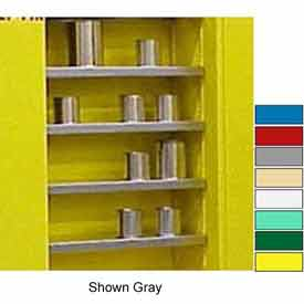 "Securall® Extra Shelf for 43""Wx12""D Wall Mounted Cabinet Yellow"