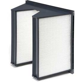 "Purolator® 5360867080 SERVA-CELL® Rigid Box Filter, Plastic 12""W x 24""H x 12""D"