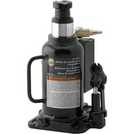 Omega 20 Ton Air Actuated Bottle Jack 18204C by