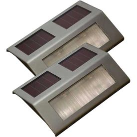 Sunforce 84507 Solar Dock Light (2 Pack) Package Count 2 by