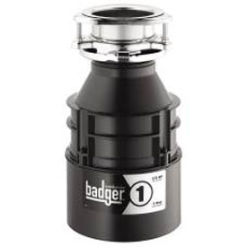 In-Sink-Erator I Badger 1 Garbage Disposal Without Power Cord 1/3 Hp by