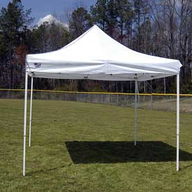 "King Canopy Fsshst10Wh Heavy-Duty Instant Shelter - 10'Wx10'Dx10'10""H"