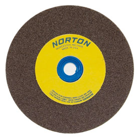"Norton 07660788278 Gemini Bench and Pedestal Wheel 8"" x 3/4"" x 1"" 36 Grit... by"
