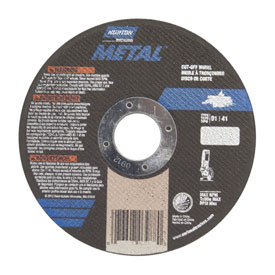 """Norton 66252842158 Metal Right Angle Cut-Off Wheel 4-1/2"""" x .040"""" x 7/8"""" 60... by"""