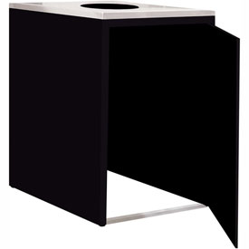 "Single Recycle Cabinet - 30""W x 27-3/4""D x 39-15/32""H (Gloss Black)"
