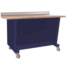 Custom® Series-Portable, Hardwood Top, open-St.Louis Blue