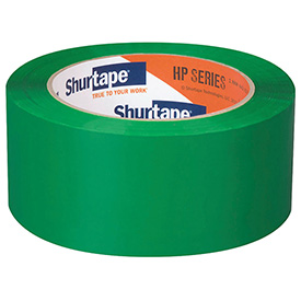 Shurtape® Carton Sealing Tape HP200 48mm x 100m 1.9 Mil Green - Pkg Qty 36