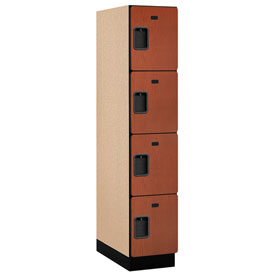 Lockers wood plastic laminate salsbury extra wide Designer lockers