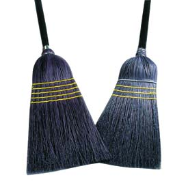 Black Corn/ Blend Janitor Broom - 28#