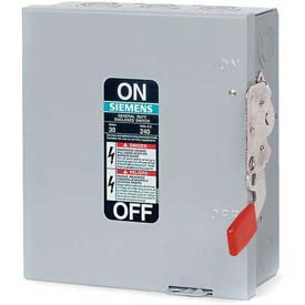 Siemens GNF326 Safety Switch 600A, 3P, 240V, 3W, Non-Fused, GD, Type 1